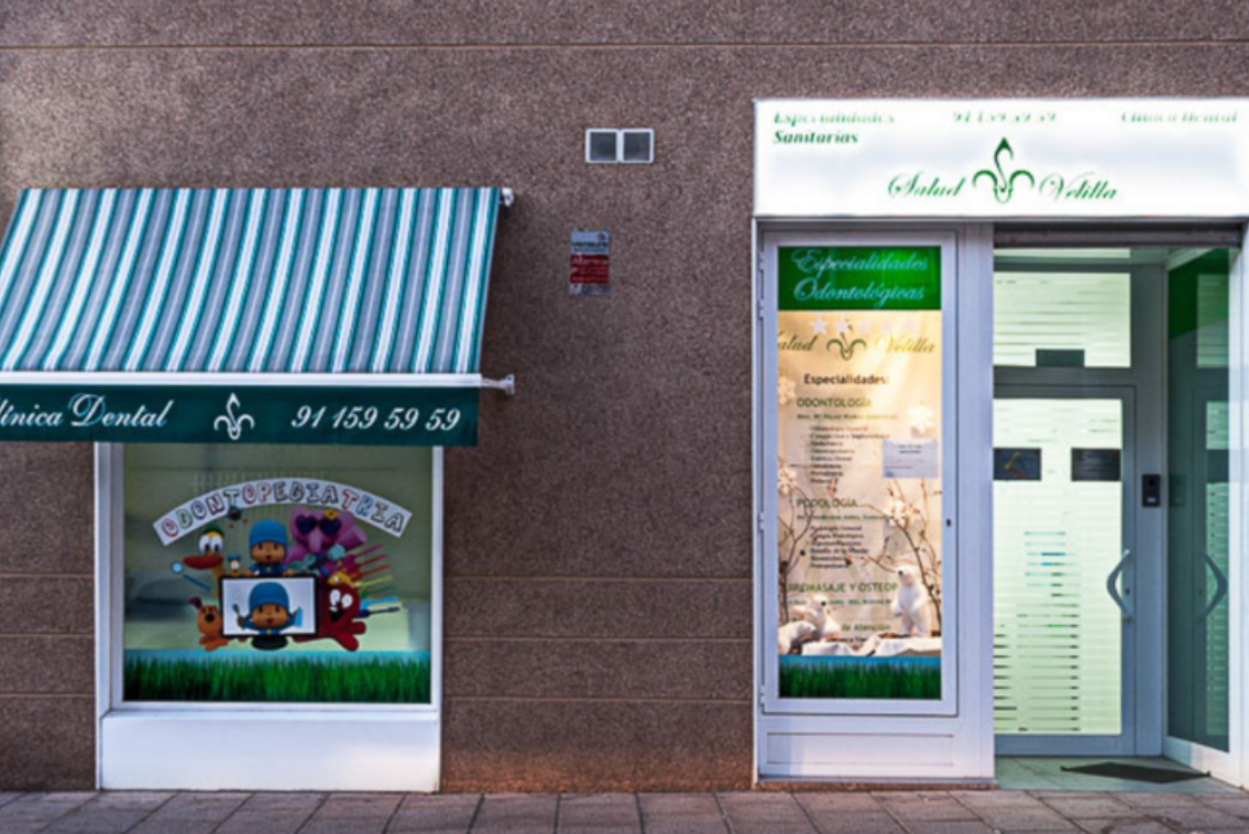 dentista en Velilla de San Antonio